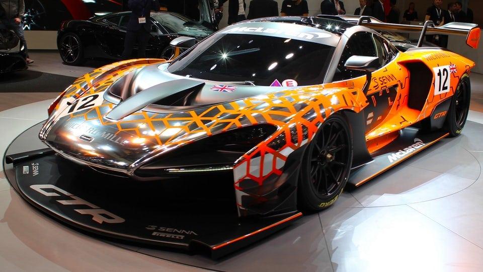 McLaren ups the ante at Geneva with a Senna GTR Concept