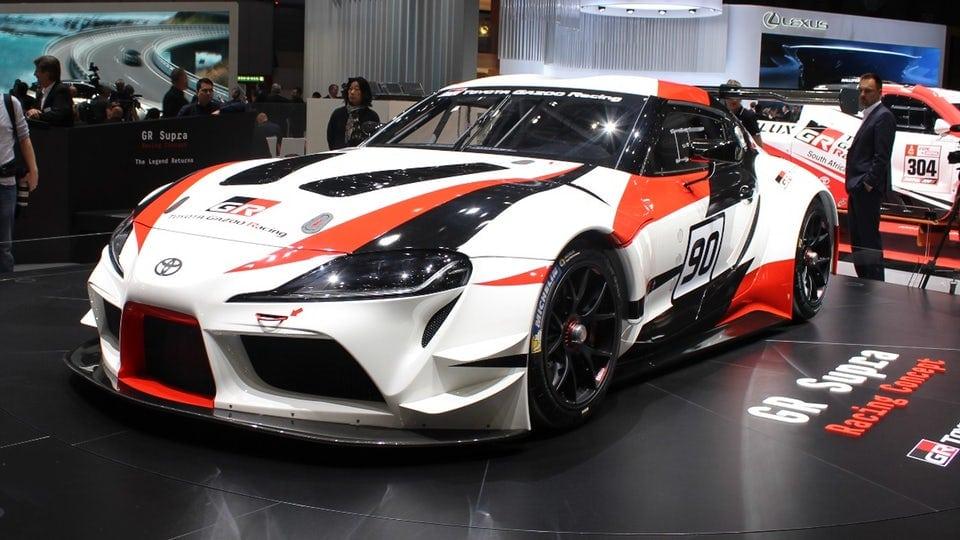 Toyota GR Supra Racing Concept screeches into legend at Geneva