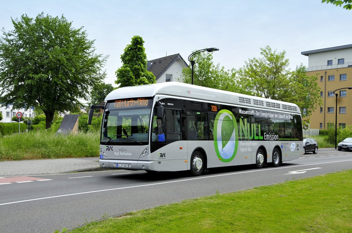 Van Hool Building 40 Hydrogen Buses for German Cities