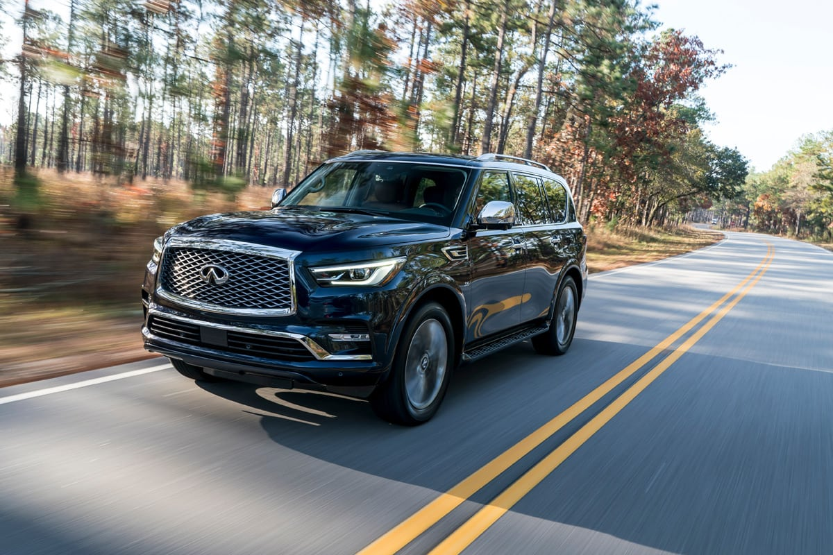 Review: 2018 Infiniti QX80