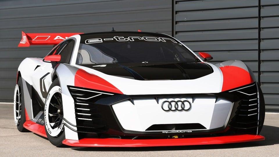 Audi makes virtuality reality with track-ready e-tron Vision Gran Turismo