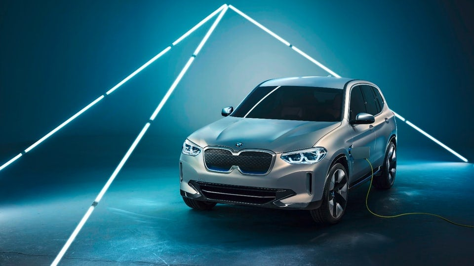 BMW unveils Concept iX3 plug-in at Auto China 2018