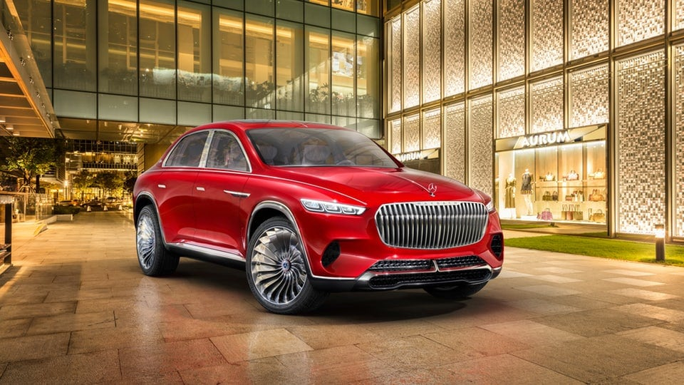 Half-car, half-SUV Mercedes-Maybach Ultimate Luxury premiers in Beijing