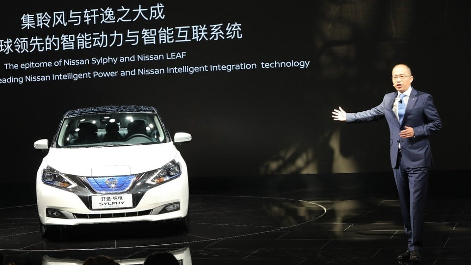 Nissan turns over a new Leaf with China-made Sylphy electric car