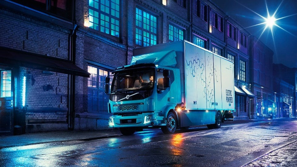 Volvo introduces its first electric truck, the FL Electric