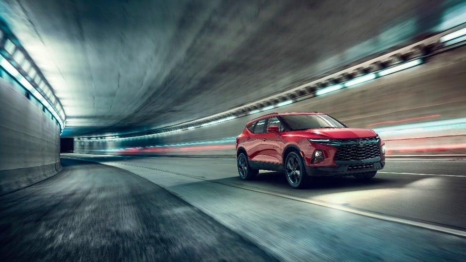 Chevrolet brings back the Blazer as a Camaro-styled crossover