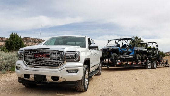 Towing Like a Pro with GMC, Into the Dunes of Southern Utah