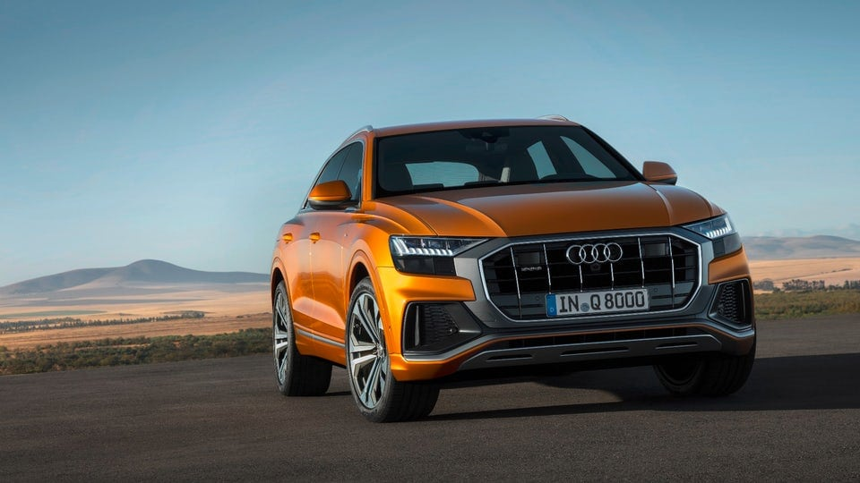 Audi tops its SUV range with new Q8