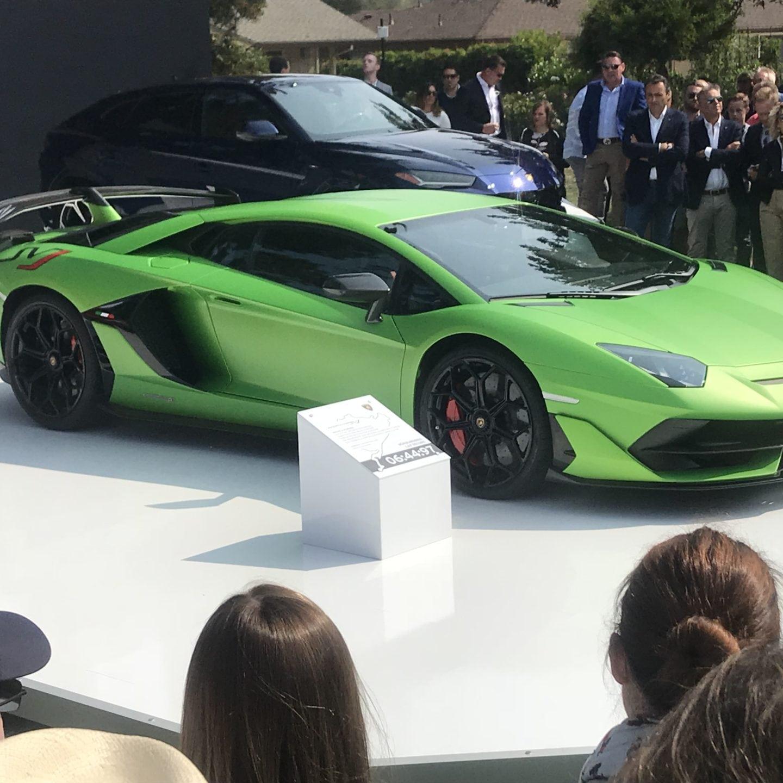 Superfast: Lamborghini Aventador SVJ breaks cover at Monterey Car Week