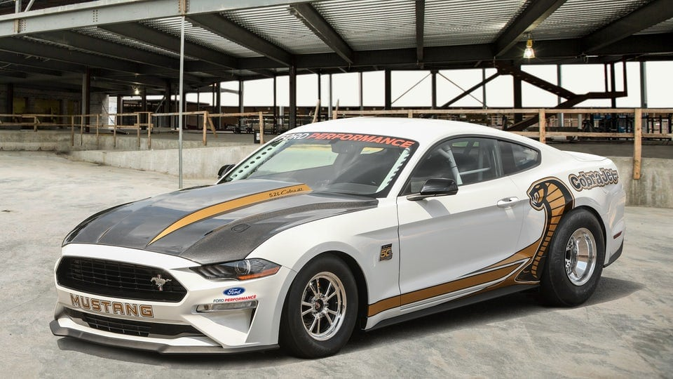 Ford heats up the track with new Mustang Cobra Jet