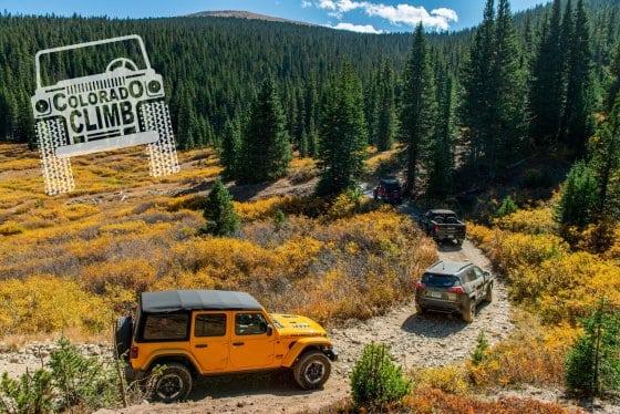 Colorado Climb : Off-Road at 11,000 Feet