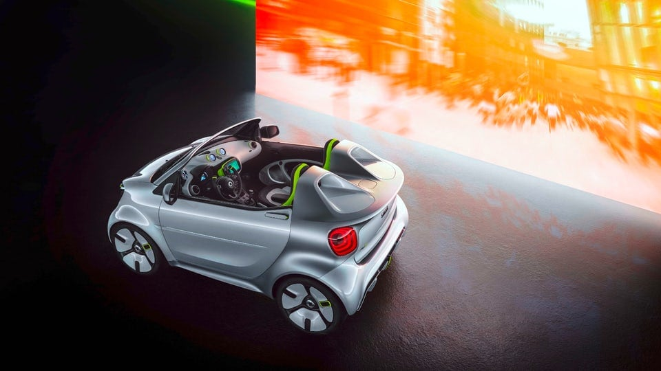 Smart's all-electric Forease to be showcased at Paris Motor Show