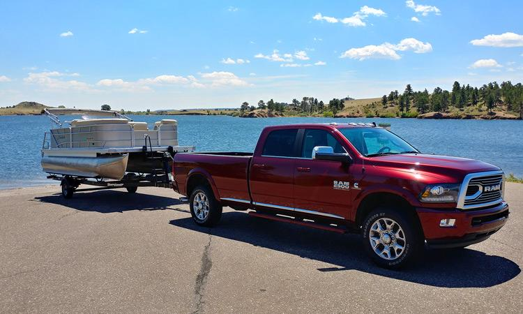2018 Ram 2500: Ram Gave Us a Truck, We Towed a Boat