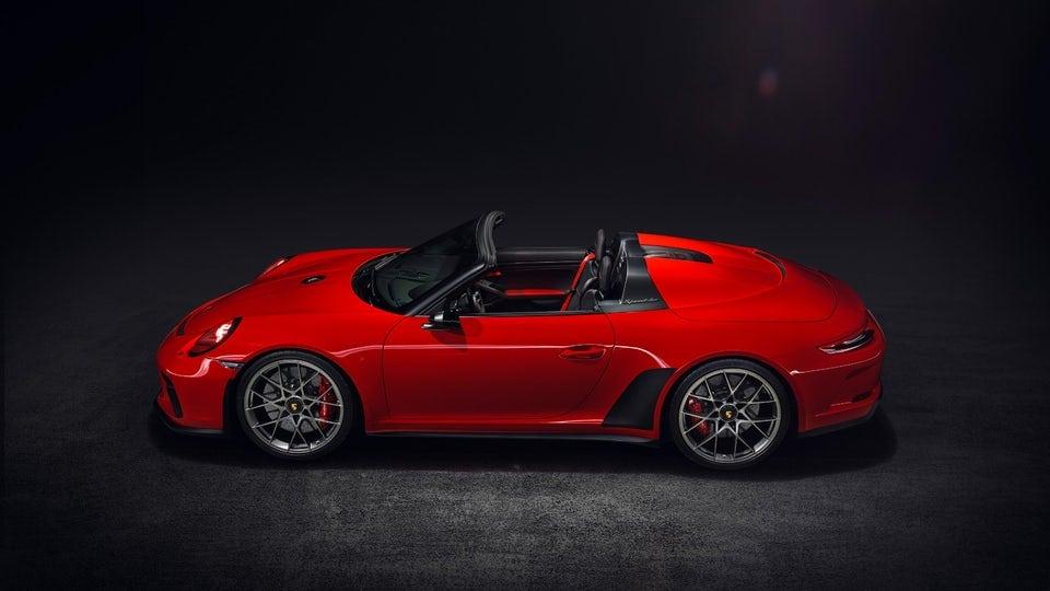 Porsche gives gorgeous 911 Speedster the green light