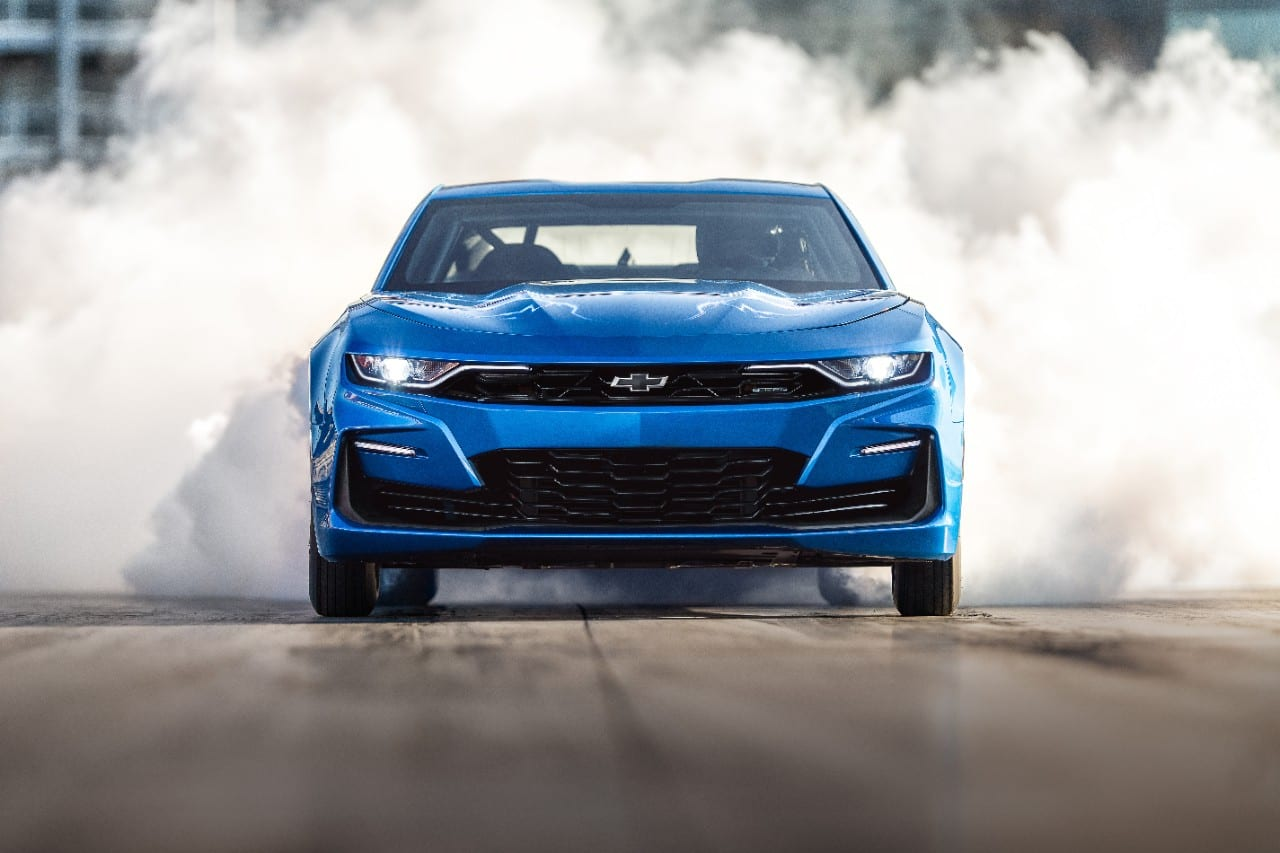Chevrolet Debuts eCOPO Camaro Concept for Electrified Drag Racing