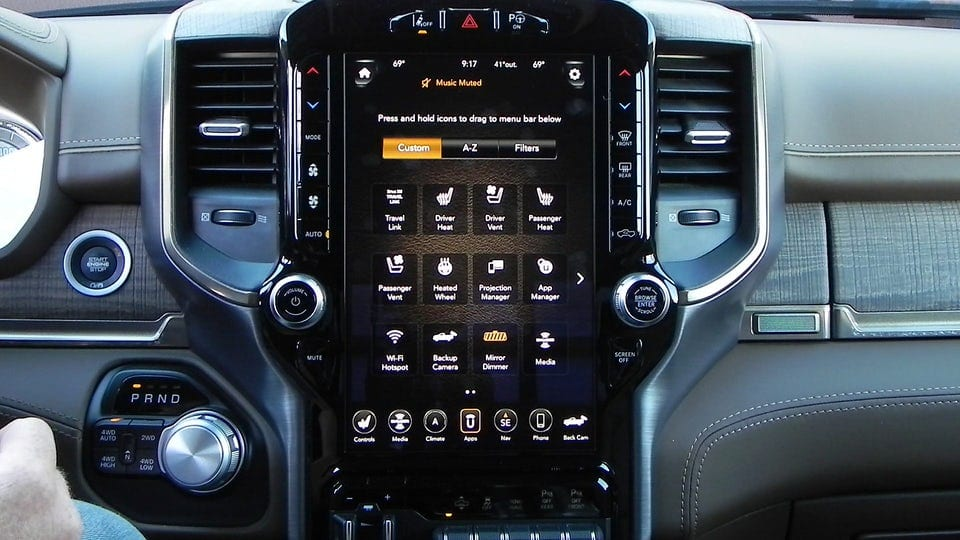 Review: 2019 Ram 1500 takes infotainment next level with 12-inch Uconnect 4C Nav system