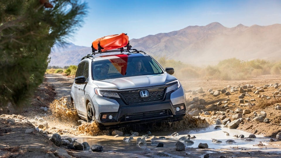 2019 Honda Passport makes a bid for the great outdoors