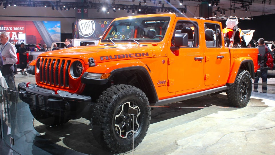 Jeep brings a Gladiator to the arena in LA