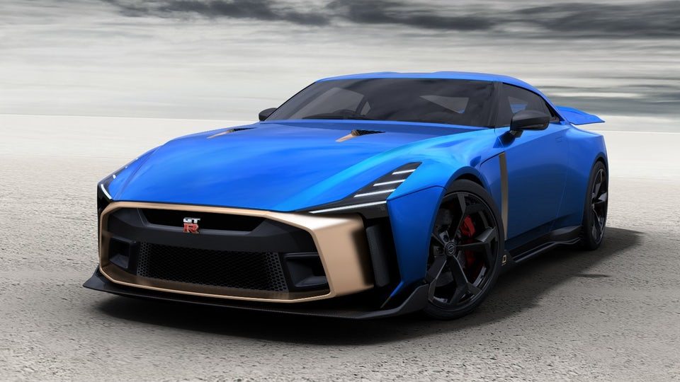 Nissan confirms production design and pricing for limited edition GT-R50