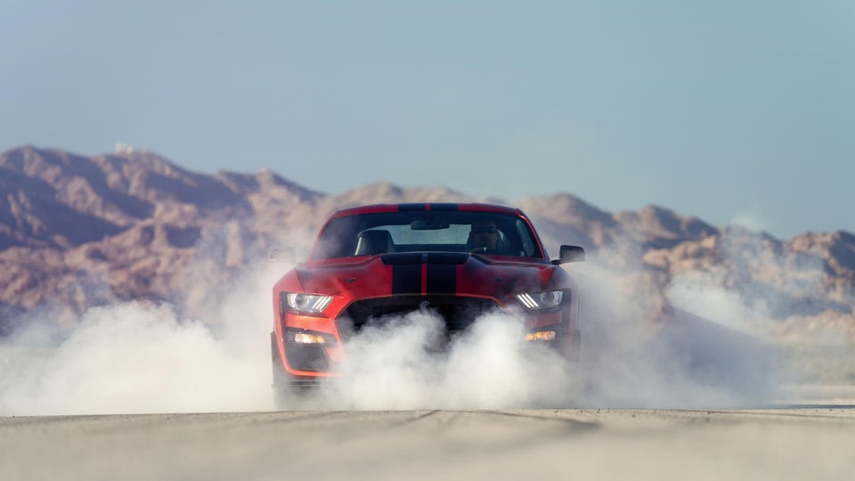 Ford brings the muscle to Detroit with new Shelby GT500 Mustang