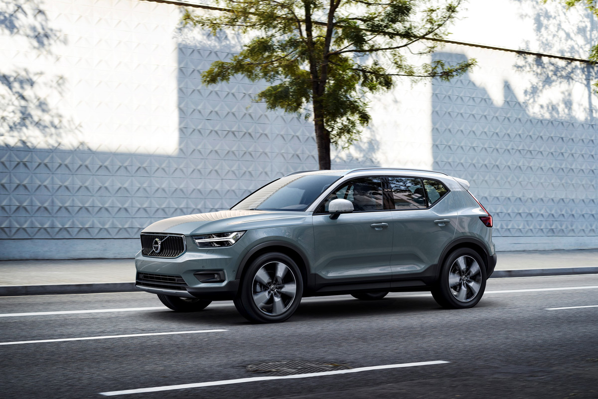 The 2019 Volvo XC40 Sets A New Standard In Compact Luxury Crossovers