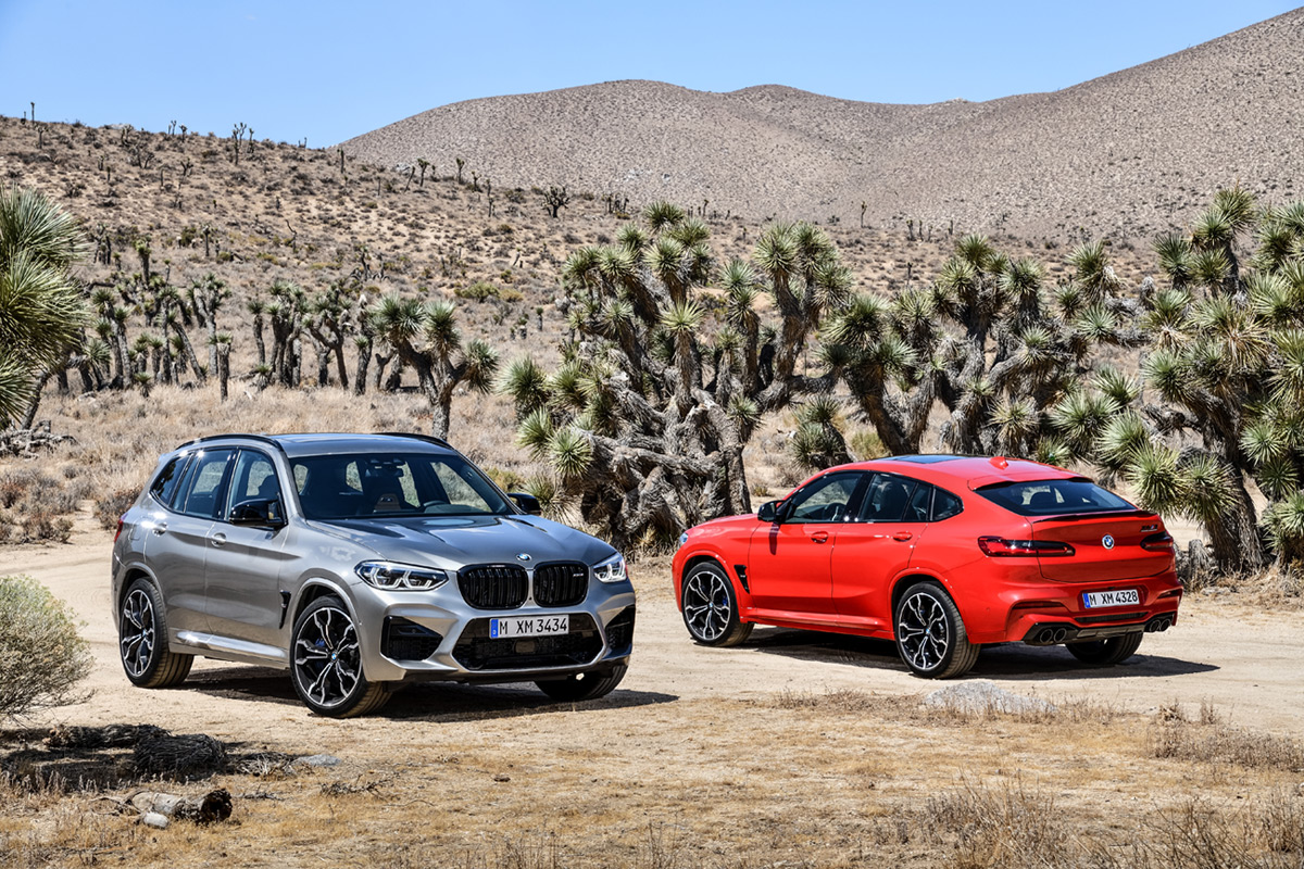 The BMW X3 And X4 Get The //M Treatment