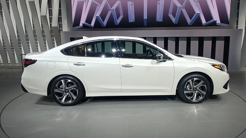 All-new 2020 Subaru Legacy unveiled at Chicago Auto Show