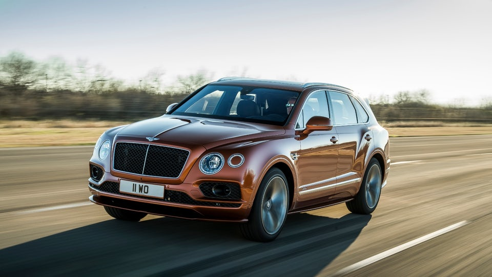 "Bentley drops ""world's fastest SUV"" crown on the new Bentayga Speed"