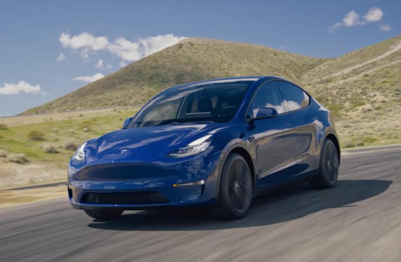Tesla Unveils Compact Model Y Crossover