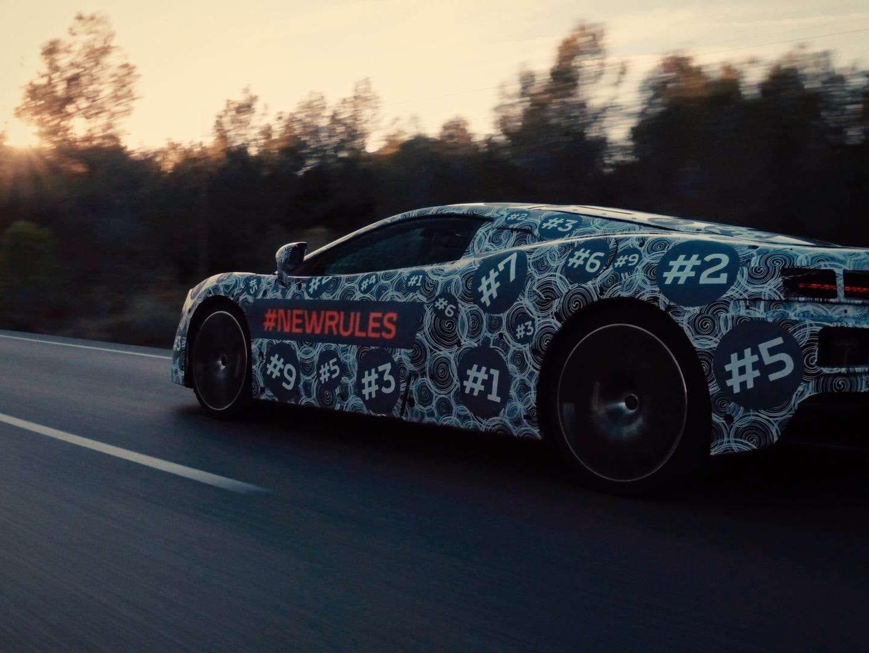 McLaren Teases Grand Touring Model at Geneva