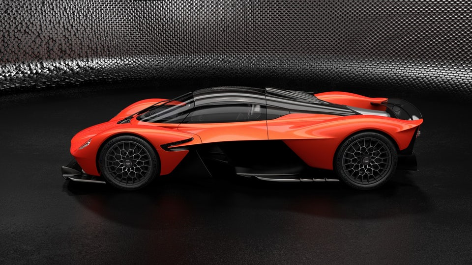Aston Martin reveals eye-watering performance figures for Valkyrie hypercar