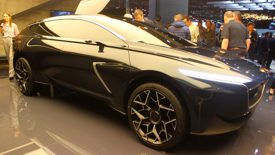 Lagonda All-Terrain Concept hints at new design direction for Aston Martin