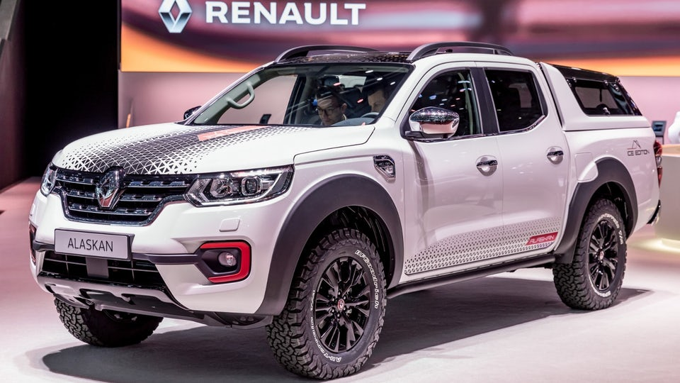 Renault's Alaskan Ice Edition pickup truck is headed for showroom floors