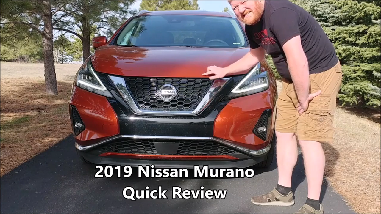 2019 Nissan Murano Quick Review