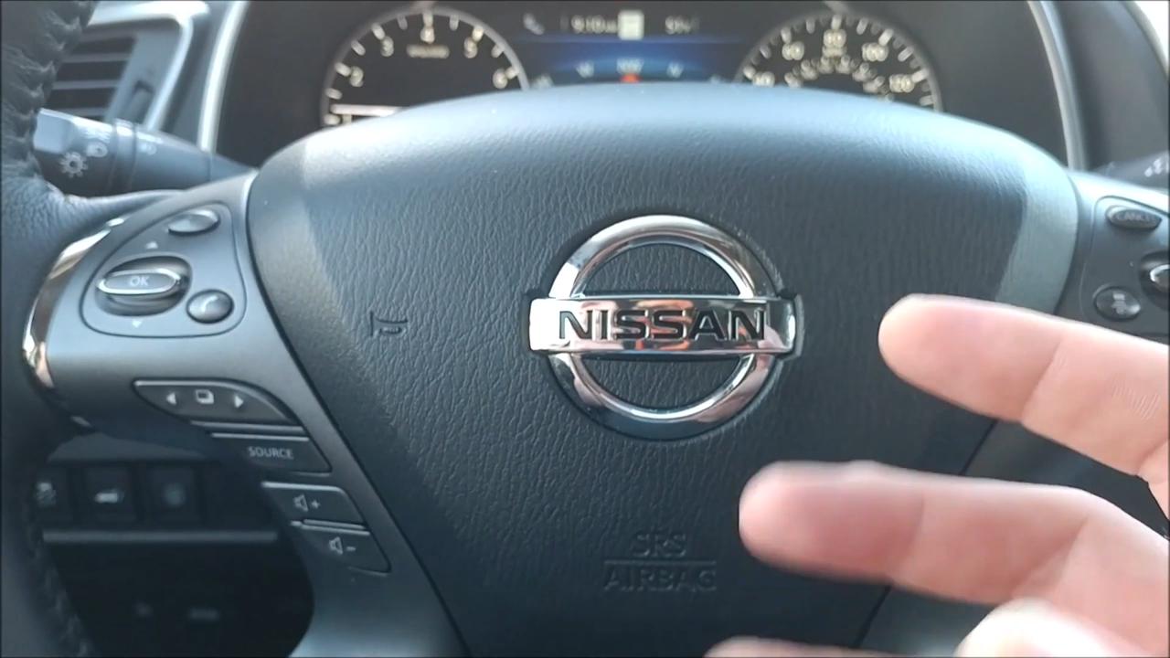 2019 Nissan Murano interior review