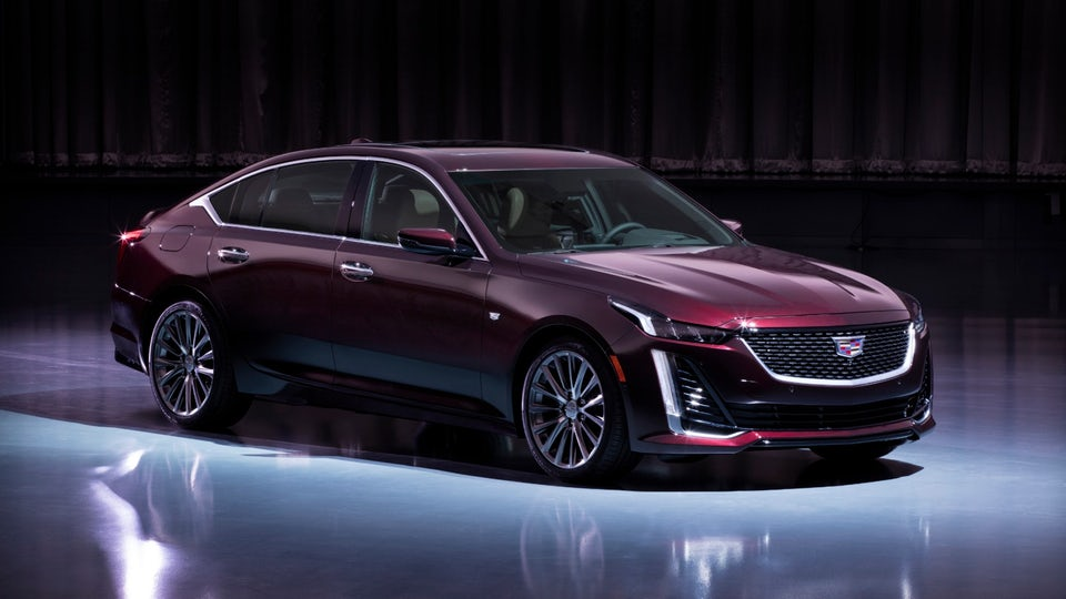 Cadillac Super-Cruises the CT5 into New York as an all-new sedan