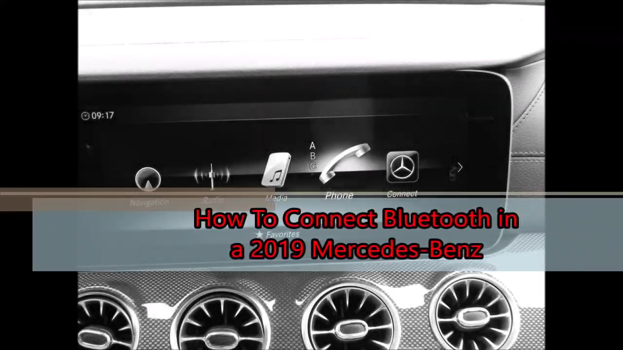 How To Connect Bluetooth in 2019 Mercedes Benz
