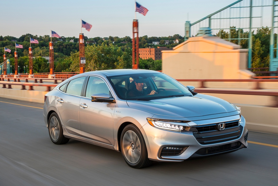 2019 Honda Insight Is Now the Stealth Hybrid
