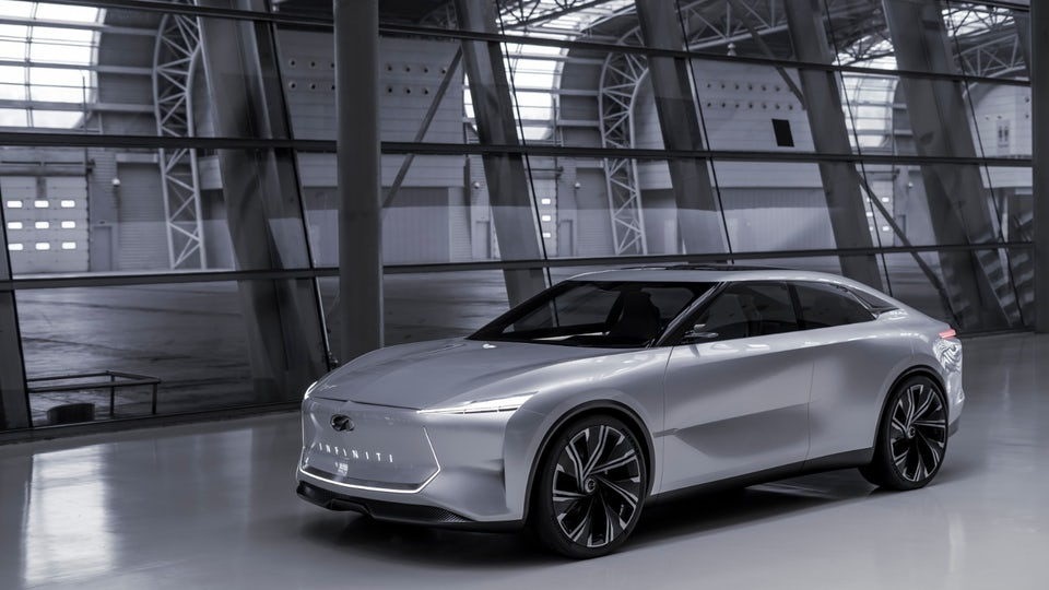 Infiniti powers into Shanghai with electrified Qs Inspiration Concept