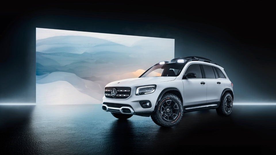 Mercedes-Benz unveils new Concept GLB compact off-roader in Shanghai