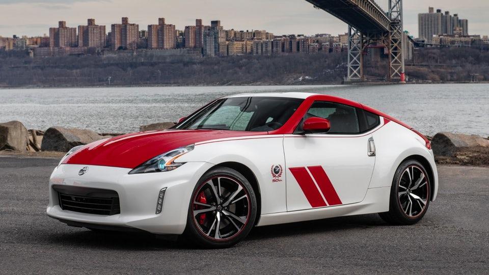 Bestriped 50th Anniversary 370Z recalls Nissan's racing origins