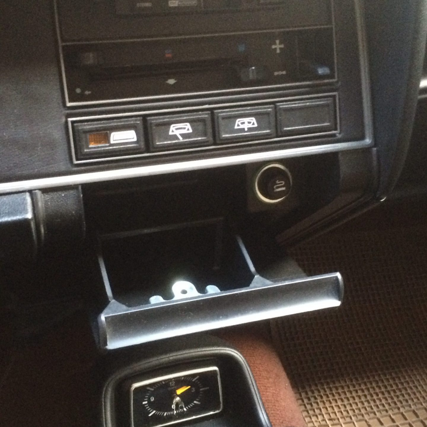 Why don't new cars have ashtrays?