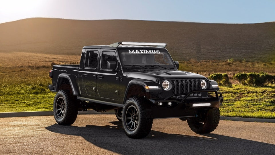 Hennessey goes full Gladiator with Maximus 1000
