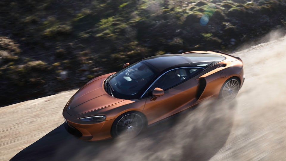 McLaren unveils GT Superlight