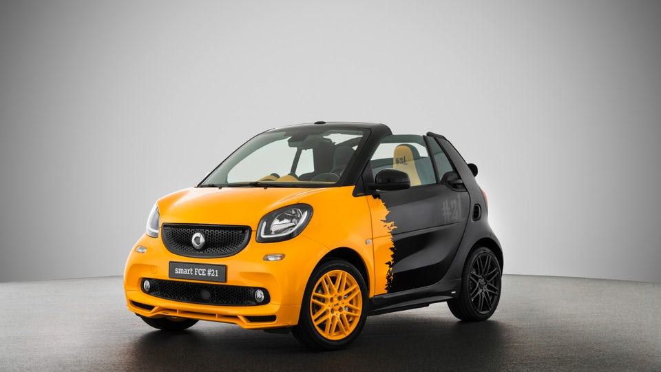 Smart special edition series bids adieu to gas engines and welcomes the electric era