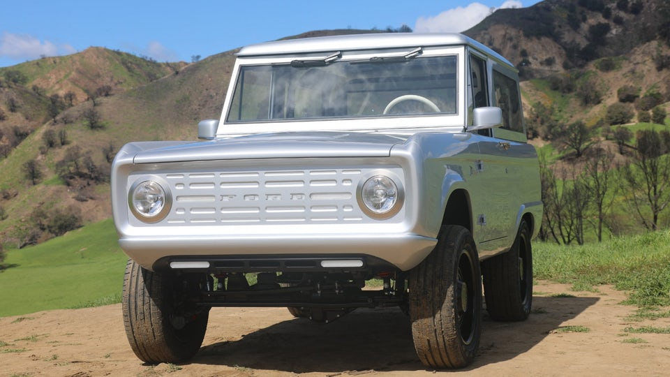 Zero Labs building a limited run of electric classic Ford Broncos