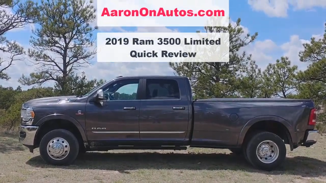 Big Bad 2019 Ram 3500 Review