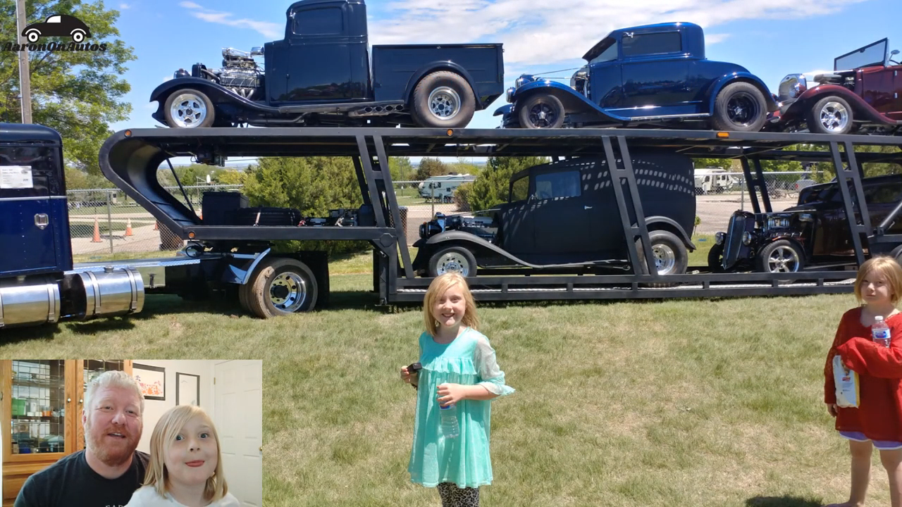 Gering Farther's Day Classic Car Show Featuring Heidi
