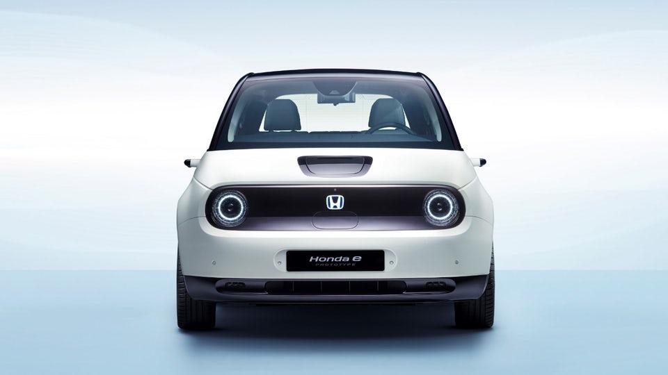 "Honda details e electric city car ""skateboard"" chassis"