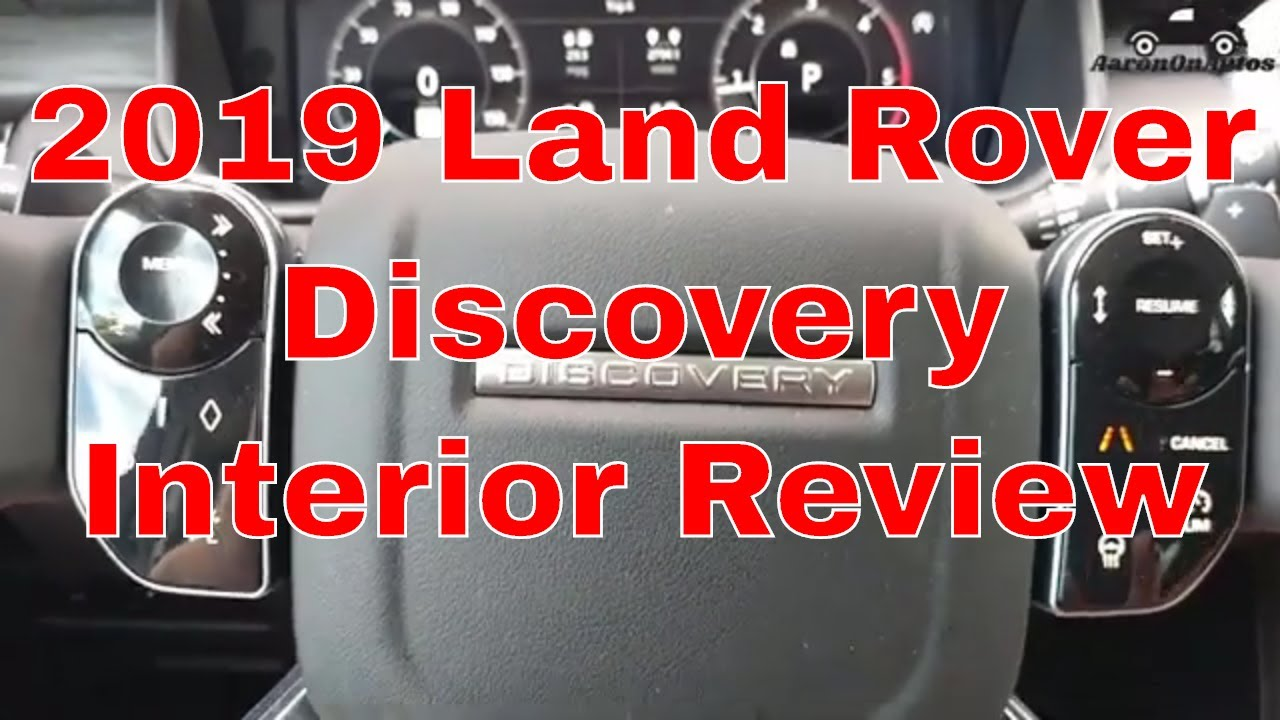 2019 Land Rover Discovery interior review
